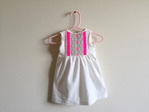 Hmong baby toddler dress #2 how to make