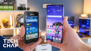 Galaxy S1 vs S10 Plus - 9 YEARS LATER! 😮 | The Tech Chap