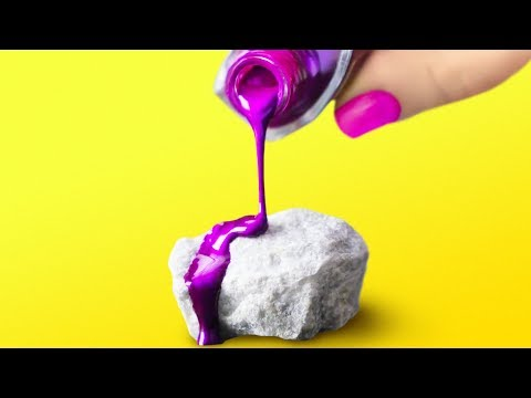 20 BEAUTIFUL HACKS AND IDEAS WITH STONES
