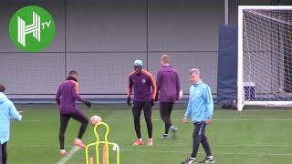 Benjamin Mendy returns to Man City training ahead of Schalke clash