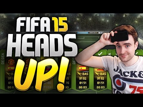 FIFA 15 HEADS UP!!! - THE WORST TEAM MATE YET!?! Head To Head Pack Challenge