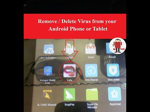 Exclusive : Remove / Delete Viruses from Any Android Phone or Tablet