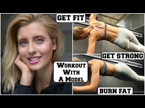 FAT BURNING HIIT WORKOUT || Model Workout