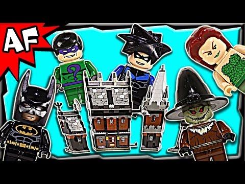 Lego Batman ARKHAM ASYLUM 7785 Stop Motion Build Review