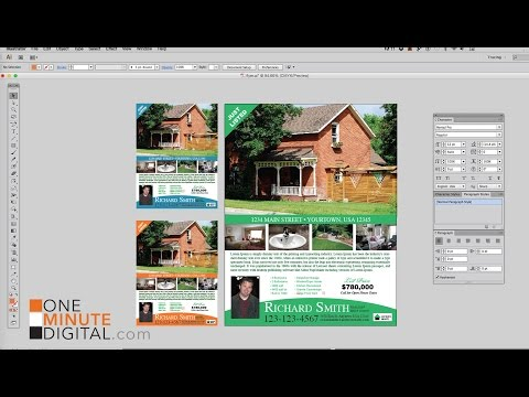 Design a Real Estate Flyer in Illustrator From Start to Finish