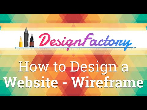 How to Design a Website - Build the Wireframe