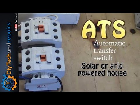 Automatic transfer switch setup and quick look at 3 types