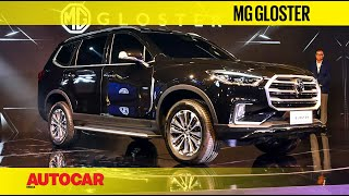 Auto Expo 2020 : MG Gloster Preview   First Look   Autocar India