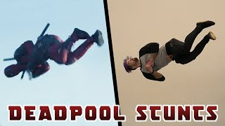 Doing Stunts From Deadpool Movie In Real Life (Insane tricks!)