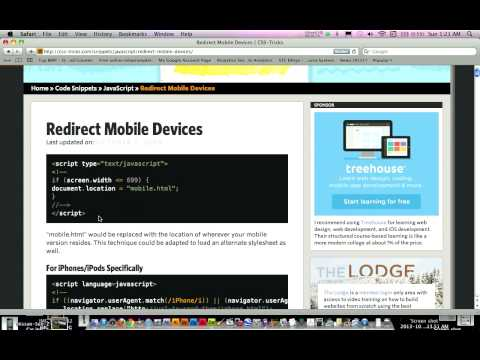 How to Redirect Website to a Mobile Version when Accessed on a Mobile Device