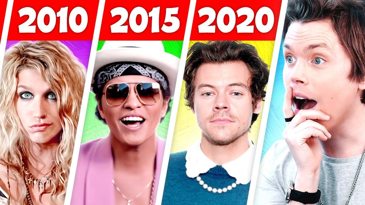 Biggest Hit Songs Each Year (2010 - 2020)