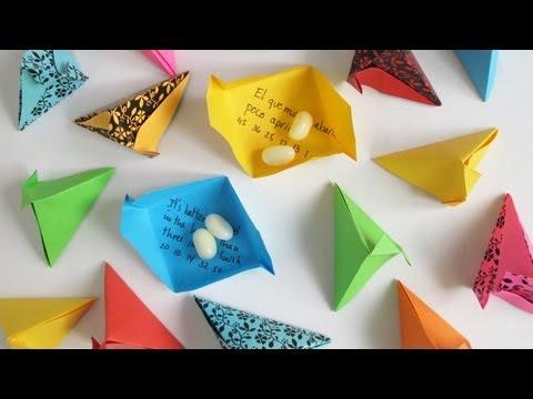 Origami Fortune Pouch - Cajita de la Fortuna