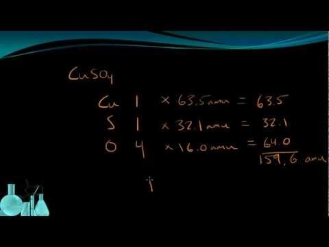 Chemistry 5.6 Formula Mass (Molecular Mass)