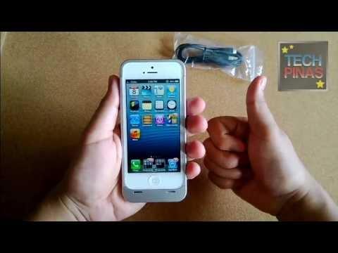 Kimstore iPhone 5 Battery Case Quick Demo