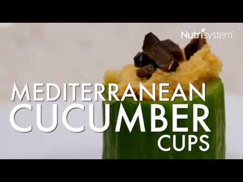Mediterranean Cucumber Cups Recipe