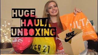 HUGE Haul/Unboxing | Katie Brophy
