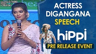 Digangana Speech | Hippi Movie Pre Release Event | Karthikeya | Jazba Singh | TN Krishna