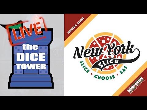 Dice Tower Live:  New York Slice