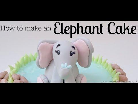 How To Make An Elephant Cake