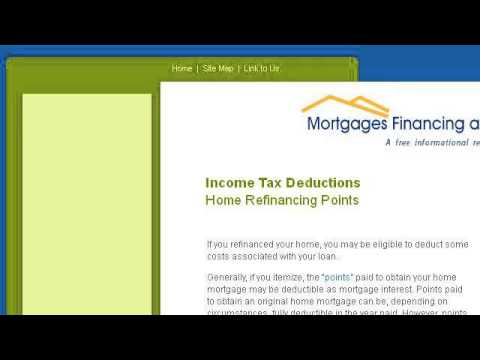 Can I Deduct Points From A Mortgage Refinance...