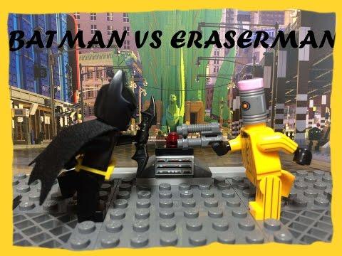 LEGO Batman Vs EraserMan