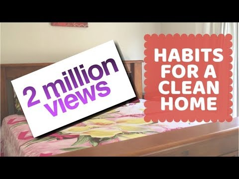 10 Everyday habits to keep your house clean & clutter free || My daily cleaning routine