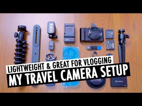 My Lightweight Travel Camera Setup | Starter Kit For YouTube | RehaAlev