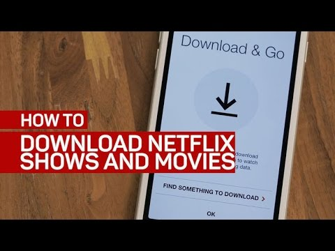 Download Netflix shows and movies on your phone or tablet (How To)