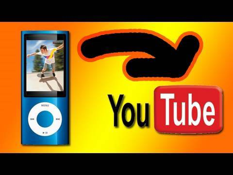 HOW-TO Get iPod Nano videos to YouTube