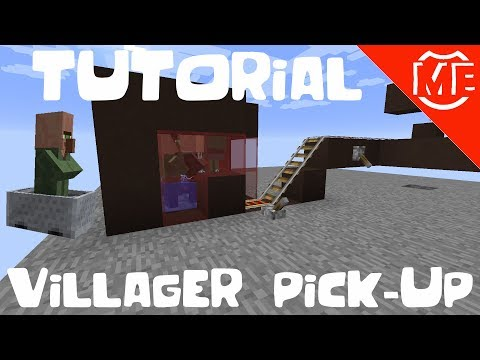 Tutorial Villager Pick-Up System for Minecraft 1.12