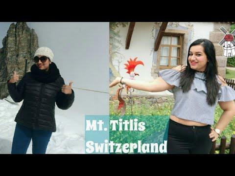 On Top of Mount Titlis - Europe Trip 2017 | Treasures Of Europe - Star Tours |Travel Vlogs