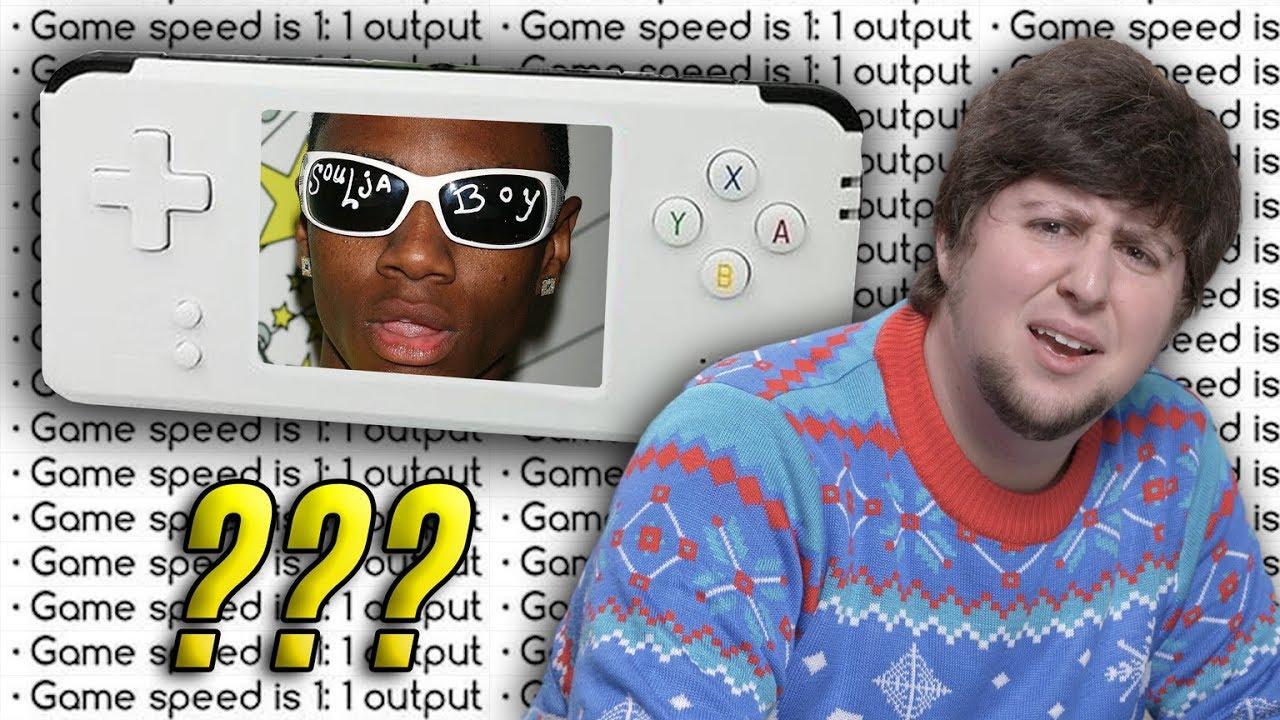Soulja Boy Makes A Video Game Console - JonTron