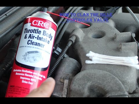 How to clean the idle control valve 99 04 mustang v6