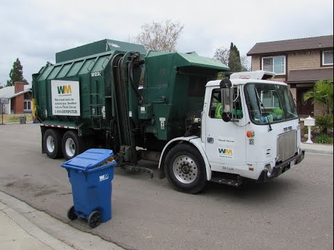 Waste Management Garbage Trucks of San Diego - Part II (East County Edition)
