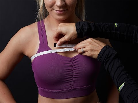 How to Find your Sports Bra Size