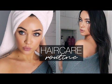 HAIRCARE ROUTINE FOR LONG, SHINY, HEALTHY HAIR | Stephanie Ledda