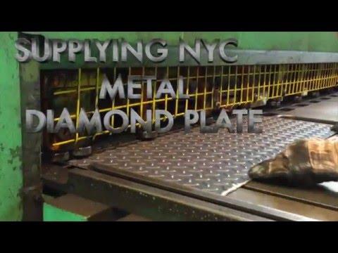 NYC Diamond Plate Allied Steel New York City Video