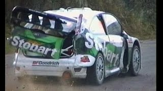 Rally after crash, puncture, never give up