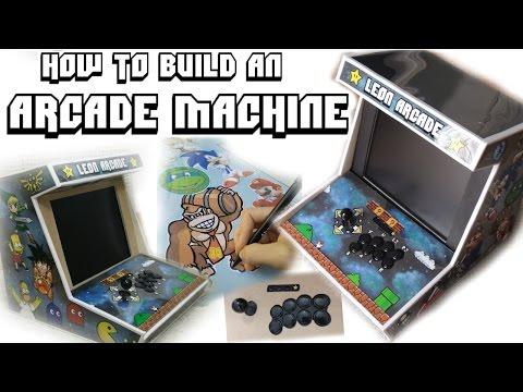 BUILD YOUR OWN RASPBERRY PI ARCADE MACHINE TUTORIAL