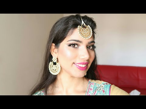 Eid Mubarak! Eid makeup Tutorial and Outfit 2017 | Naghma Syed