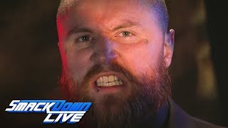 Aleister Black is waiting for a knock: SmackDown LIVE, Aug. 13, 2019