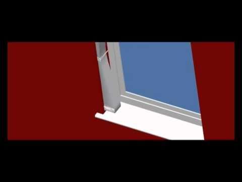 Vertical Blind Tie Back Fitting instructions. Louvretie U.K. Ltd