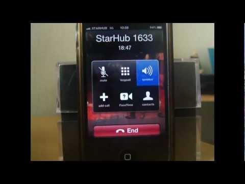StarHub Call 20min no answer