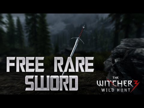 The Witcher 3 How to Get a Rare Sword For Free