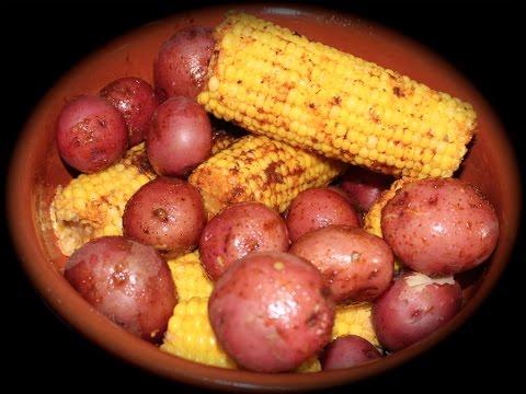 Cajun Corn & Potatoes