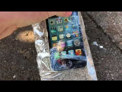 Will a brick protect your iPod Touch?