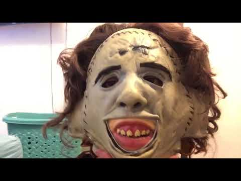 Trick or Treat Studios Leather Face mask