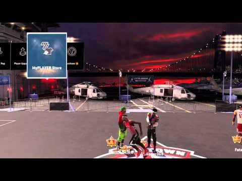 sprite and gatorade gear N/A in park/rec in NBA2K15