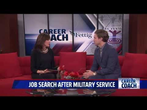 Career Coach on Fox 17 - Finding a Job After Military Service