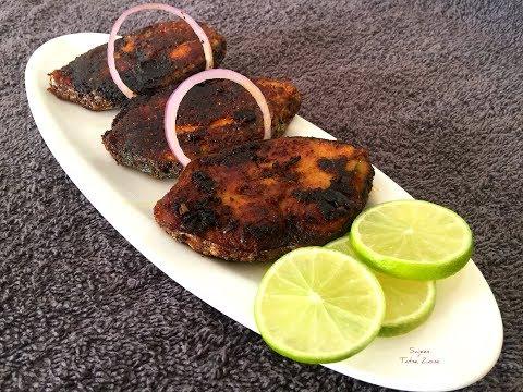 No Oven Tandoori Fish Fry|ഓവനില്ലാതെ തന്തൂരി ഫിഷ് ഫ്രൈ